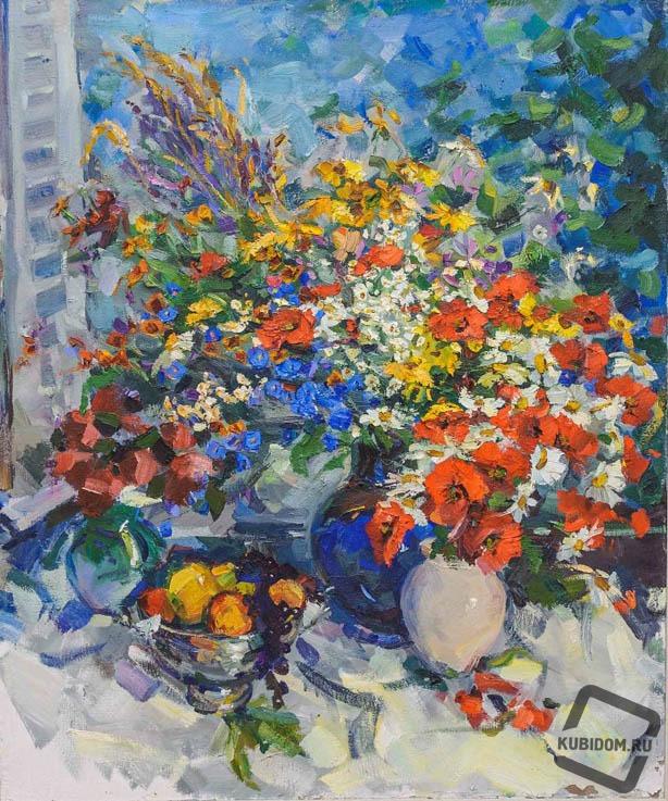 Цветы для юбиляров
