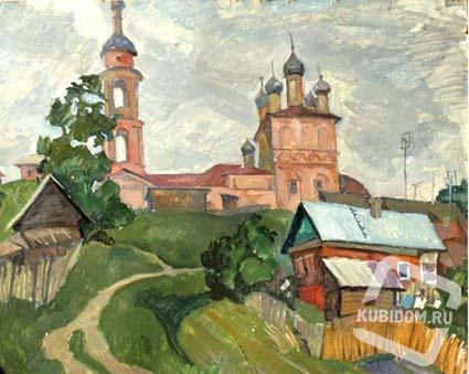 Юбилейная выставка Александра Кузёмки