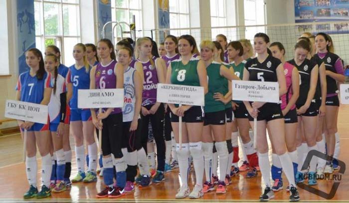 Турнир по волейболу среди женских команд состоялся в Краснодаре