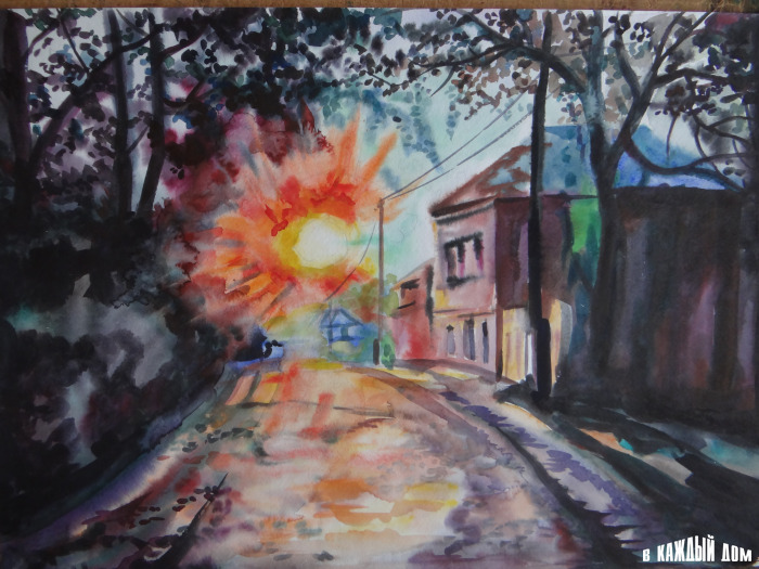 Андрей Акатьев Улица во Владимире