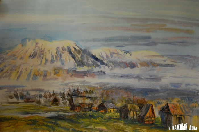 Павел Дюжев Утро в горах